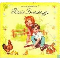 Nutricia kinderboekje oude serie:  Peter's boerderijtje ( deeltje 3)