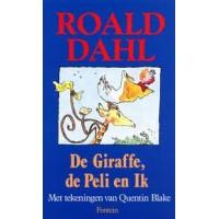 Dahl, Roald met ill. van Quentin Blake: De giraffe de peli en Ik (met stofomslag)