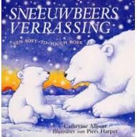 Allison, Katherine met ill. van Piers Harper: Sneeuwbeers verrassing ( een soft -to- touch boek)
