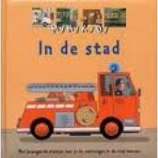 Minikidi: In de stad (met bewegende plaatjes leer je de voertuigen in de stad kennen)