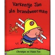 Fox, Christyan en Diane: Varkentje Jan als brandweerman