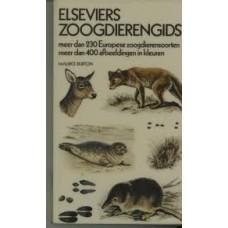 Elseviers zoogdierengids door Maurice Burton (meer dan 230 Eur. zoogdieren meer dan 400 afb in kleur)