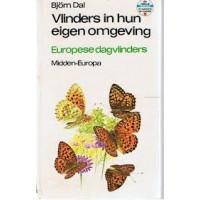Dal, Bjorn: Vlinders in hun eigen omgeving, Europese dagvlinders van midden-Europa