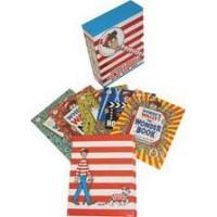 Handford, Martin: Waar is Wally? de fantastische minibox ( 5 miniboekjes + vergrootglas)