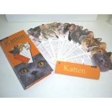 Fandex waaier: Katten, rassen-eigenschappen-karakter