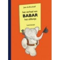 Brunhoff, Jean de: Het verhaal van Babar het Olifantje ( groot formaat)