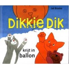 Boeke, Jet: Dikkie Dik, krijt in  ballon ( Fries)