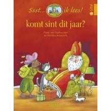 Ssst... ik lees! Komt sint dit jaar? door Pieter van Oudheusden en Danielle Roothooft ( avi 1)