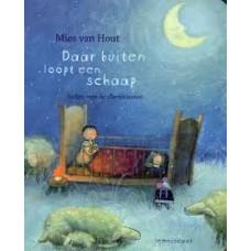 Hout, Mies van: Daar buiten loopt een schaap, liedjes voor de allerkleinsten met cd (kleine uitgave)
