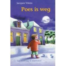 Vriens, Jacques met ill. van Juliette de Wit: Poes is weg (avi 4)
