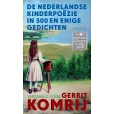 De Nederlandse kinderpoezie in 1000 en enige gedichten verzameld door Gerrit Komrij (hardcover)