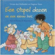 Hollander, Vivian den met ill. van Dagmar Stam: Een stapel dozen en een nieuw huis