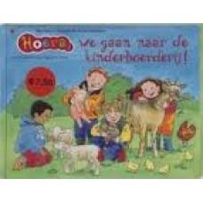 Busser, Marianne en Ron Schroder met ill. van Ingrid ter Koele: Hoera, we gaan naar de kinderboerderij !