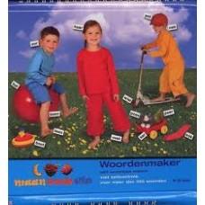 Woordenmaker 1 Maan Roos Vis  ( ringband)