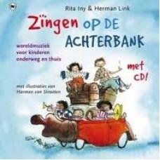 Link, Herman en Rita Iny: Zingen op de achterbank ( met cd) wereldmuziek voor kinderen onderweg en thuis