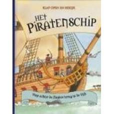 Klap open en bekijk: Het piratenschip, stap achter de flapjes terug in de tijd