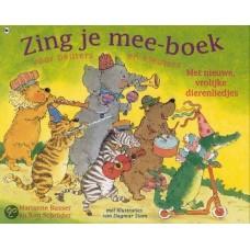 Busser, Marianne en Ron Schroder met ill. van Dagmar Stam: Zing je mee-boek voor peuters en kleuters, met nieuwe, vrolijke dierenliedjes ( met cd)