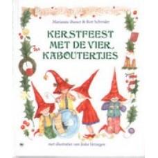 Busser, Marianne en Ron Schroder met ill. van Jeska Verstegen: Kertstfeest met de vier kaboutertjes