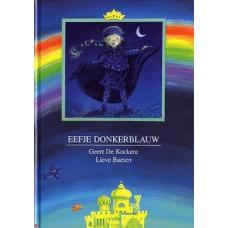 Kockere, Geert de en Lieve Baeten: Eefje donkerblauw ( met envelop met kleurentovenaar)