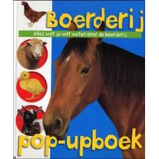 Priddy, Roger: Boerderij pop-upboek, alles wat je wilt weten over de boerderij