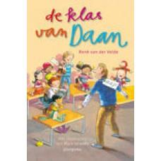 Velde, Rene van der en Mark Janssen: De klas van Daan ( gesigneerd met opdracht)