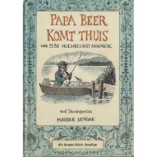 Blok-boekje door Else Holmelund Minarik en Maurice Sendak: Papa beer komt thuis (nieuwere druk)