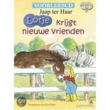 Haar, Jaap ter: Lotje krijgt nieuwe vrienden ( 2 voorlees cd , nieuw in cellofaan)