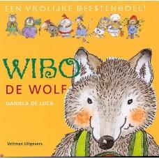 Luca, Daniela de: Een vrolijke beestenboel, Wibo de wolf ( met doorkijkpagina's)