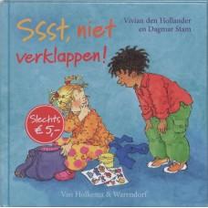 Hollander, Vivian den met ill. van Dagmar Stam: Ssst, niet verklappen !