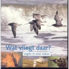 Wat vliegt daar, vogels in onze natuur ( vogelbescherming 2005 met cd)