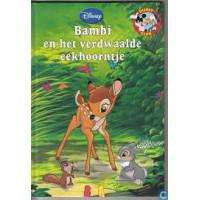 Disney Boekenclub: Bambi en het verdwaalde eekhoorntje (met cd)