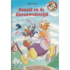 Disney Boekenclub: Donald en de dierenwedstrijd (met cd)