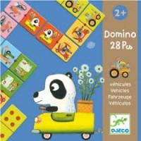 Djeco: Domino voertuigen