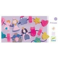 Djeco: Houten prinsessen kralen/ Perles
