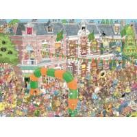 Jan van Haasteren 1000 stukjes: Nijmeegse Vierdaagse (nieuw in folie)