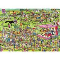 Jan van Haasteren 1500 stukjes: Ascot Paardenrace