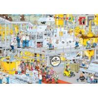 Jan van Haasteren 1000 stukjes:  Droste, de chocoladefabriek
