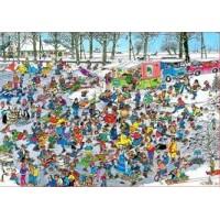 Jan van Haasteren 1000 stukjes: Op glad ijs