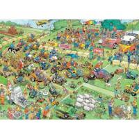 Jan van Haasteren 1000 stukjes: Grasmaaierrace  (nieuw in folie)