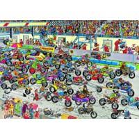 Jan van Haasteren 1000 stukjes: Motorrace