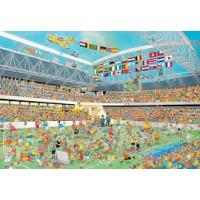 Jan van Haasteren 1000 stukjes: Voetbalgekte