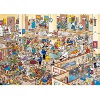 Jan van Haasteren 1000 stukjes:  Het ziekenhuis