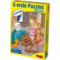 Haba 5 eerste puzzels sprookjes met draaieffect
