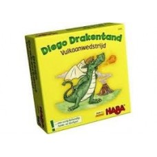 Haba Diego Drakentand vulkaanwedstrijd