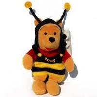 Winnie de Poeh: Mini bean bag bumble bee 8