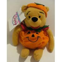 Winnie de Poeh: Mini bean bag pumpkin pooh 8