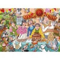 Wasgij original 1000 stukjes: Heel het dorp bakt  (23) nieuw in folie