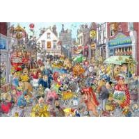 Wasgij destiny 1000 stukjes: Chaos in de winkelstraat (10)