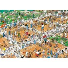 Jan van Haasteren 1000 stukjes: De tennisbaan