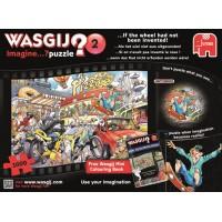 Wasgij Imagine 1000 stukjes: Als het wiel niet was uit gevonden (2) nieuw in folie